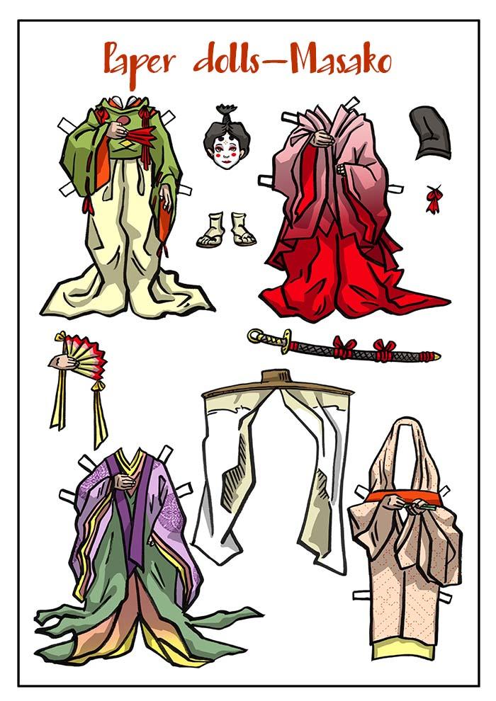 Masako's Wardrobe
