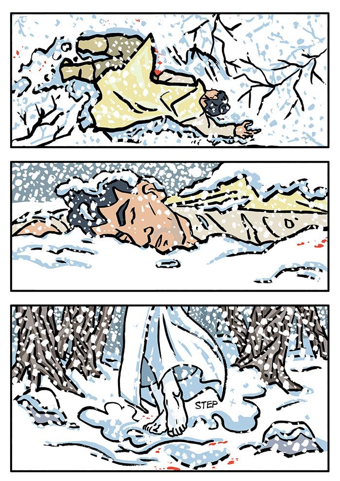 Fourteen: Snow Like Flowers